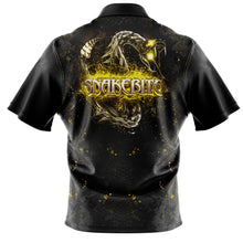 Load image into Gallery viewer, Black/Yellow Snakebite Polo Shirt replica