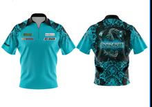 Load image into Gallery viewer, Teal Snakebite Polo Shirt replica