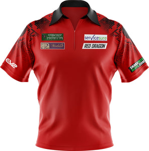 Replica Red Snakebite Polo Shirt