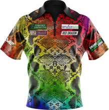 Load image into Gallery viewer, Replica Rainbow Snakebite Polo Shirt Kids & Adults sizes