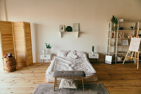 Above bed decoration