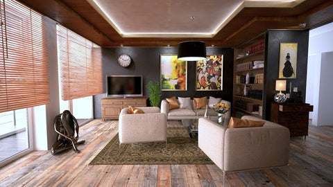 Apartment with wood interior