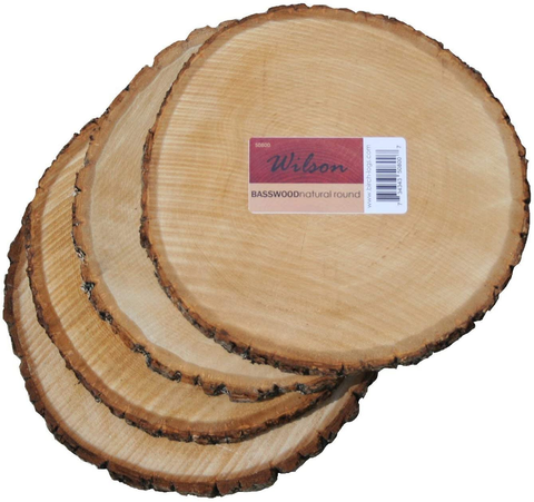 basswood round rustic wood
