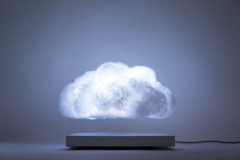 Making Weather- Levitating Cloud Speakers