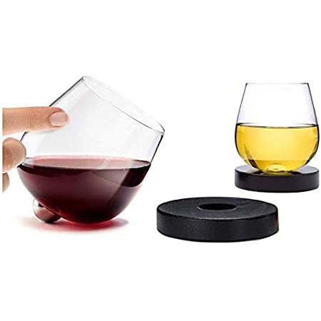 No-Spill Aerating Wine Glass