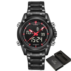 Montre sport Quartz Analog LED