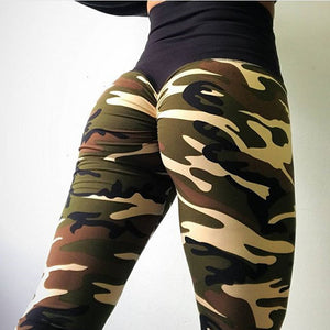 Camouflage Legging Fitness