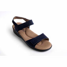 Load image into Gallery viewer, A'rcopedico Galapagos Sandal - navy