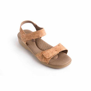 A'rcopedico Galapagos Sandal - natural cork