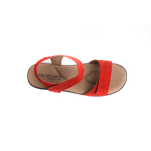 A'rcopedico Galapagos Sandal - red