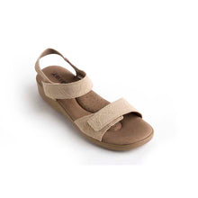 Load image into Gallery viewer, A'rcopedico Galapagos Sandal - beige