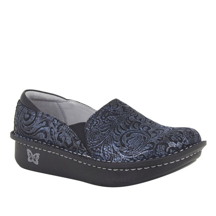Alegria Debra Navy Swirl Loafer - Women's