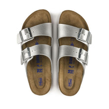 Load image into Gallery viewer, Birkenstock Arizona Sandal in Silver