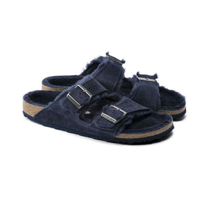 Birkenstock Arizona Shearling Sandal in Night