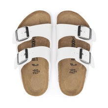 Load image into Gallery viewer, Birkenstock Arizona Birko-Flor in White - Kids