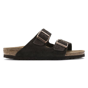 Birkenstock Arizona Suede Leather in Mocha