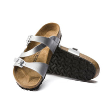 Load image into Gallery viewer, Birkenstock Salina Strappy Sandal in Silver