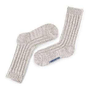 Birkenstock Cotton Bling Socks in Eggnog