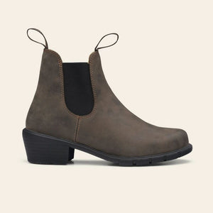 Blundstone 1677 Heeled Boots in Rustic Brown