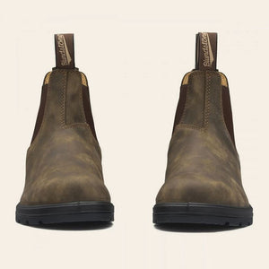 Blundstone 585 Chealsea Boot in Rustic Brown