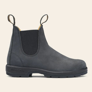 Blundstone 587 Chelsea Boot in Rustic Black