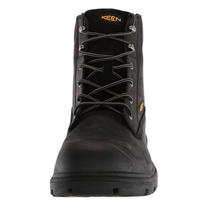 "Keen Baltimore 6"" Waterproof Steel Toe Work Boots - Men, Black"