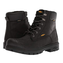"Load image into Gallery viewer, Keen Baltimore 6"" Waterproof Steel Toe Work Boots - Men, Black"