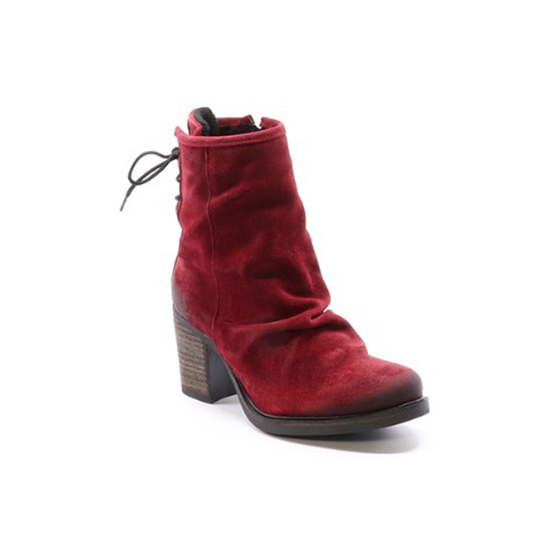 Barlow Heeled Boot - Women, Scarlet