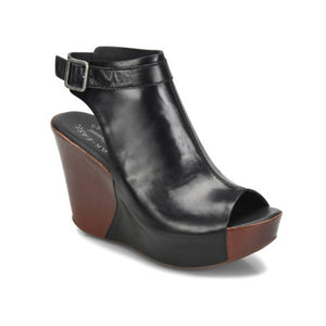 Kork-Ease Berit Wedge Sandal - Women, Black