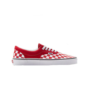 Vans Era Checkerboard in Red