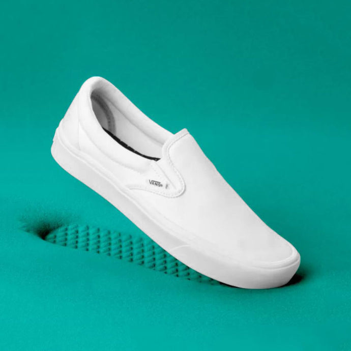 Vans ComfyCush Slip On in True White