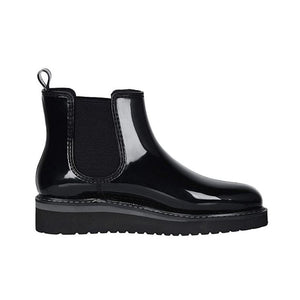 Cougar Kensington Chelsea Boot in Glossy Black Charcoal
