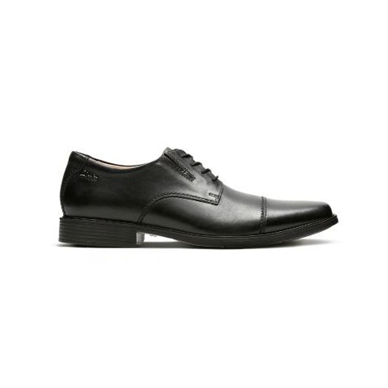 Clarks Tilden Cap Dress Shoe - Men, Black