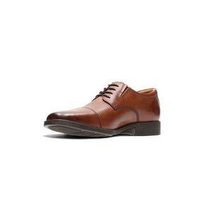 Clarks Tilden Cap Dress Shoe - Men, Tan