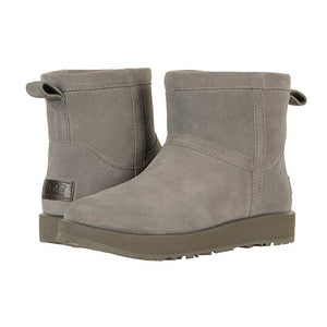 UGG Classic Mini Waterproof Boots - Women, Grey