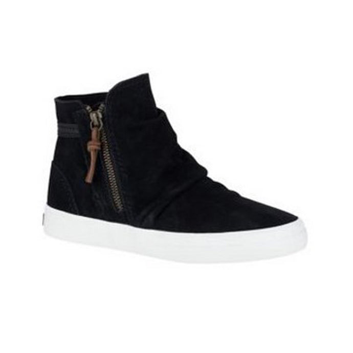 Sperry Crest Suede Ankle Boots, Black - Women