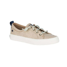 Load image into Gallery viewer, Sperry Crest Vibe Washed Linen Sneaker - Women