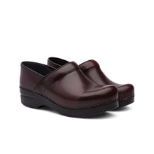 Load image into Gallery viewer, Dansko Professional Cordovan Cabrio Clogs - Women's