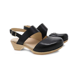 Dansko Kristy Black Sandal - Women's
