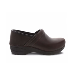 Dansko XP 2.0 Brown Waterproof Pull Up Clogs - Women's