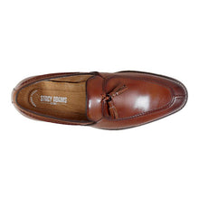 Load image into Gallery viewer, Stacy Adams Donovan Moc Toe Drop Tassel Dress Shoe - Men, Cognac