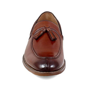 Stacy Adams Donovan Moc Toe Drop Tassel Dress Shoe - Men, Cognac