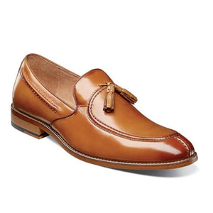 Stacy Adams Donovan Moc Toe Drop Tassel Dress Shoe - Men, Tan