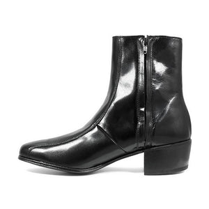Florsheim Duke Bike Toe Zipper Boot - Men, Black