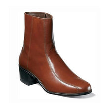 Load image into Gallery viewer, Florsheim Duke Bike Toe Zipper Boot - Men, Cognac