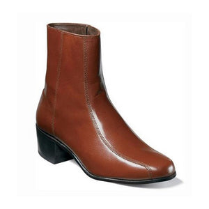 Florsheim Duke Bike Toe Zipper Boot - Men, Cognac