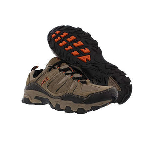 Fila Midland Trail Sneaker in Brown Orange