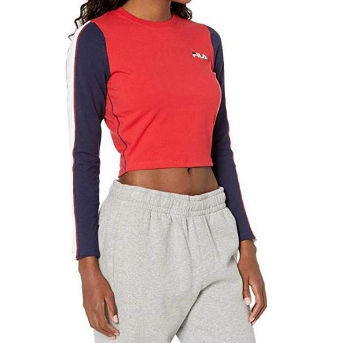 Fila Anouk Long Sleeve Crop Top - Women's