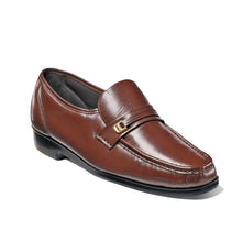 Load image into Gallery viewer, Florsheim Riva Moc Toe Bit Loafer-Cognac