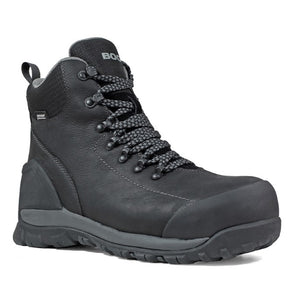 Bogs Foundation Mid Comp Toe Work & Safety Boot - Men, Black